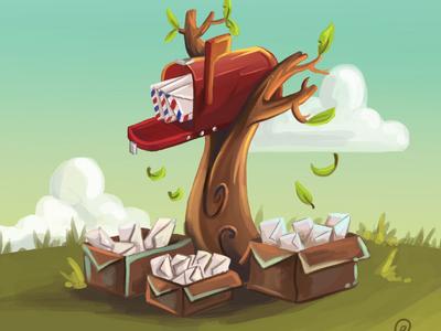 Toucan's mailbox