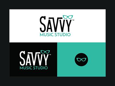 Savvy Music Studio brand identity brand branding design branding logos logo design customtype logotype logo