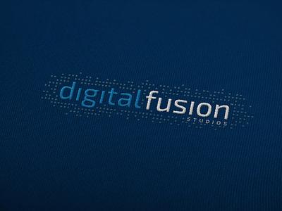 digital fusion studios brand identity logodesigns logos logotype digital pixels brand brand design branding logodesign mark logo