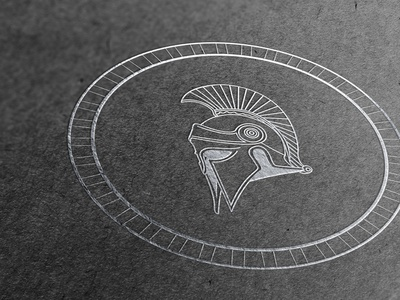 Adelphi (Cut 1) brand identity branding logodesign logotype greek helmet vector illustration logo design logo
