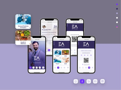 EA Cards Dr. Office uidesign ui  ux digital user interface design user interface uiux ui product design productdesign navigation ios app