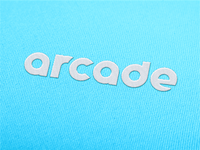 Arcade threads logo mark threads customtype typogaphy logotype bold branding design logo designs logo design logo identity design identity branding