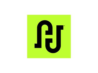 Aaron Judge Monogram ambigram graphic design design brand design logo design logo mark brian white brand mark branding logos logo