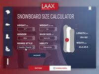 Snowboard size Rental Calculator