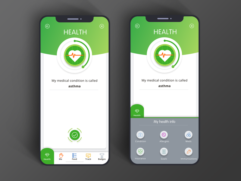Healthcare app design uidesign uxui digital design illustration ui design user interface mobile ux ui appdesign app healthcare