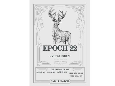 Epoch 22 Rye Whiskey