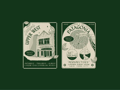 The Freedom & The Escape nevada perspectives environment patagonia nature sustainability green design badge nyc typography lettering brooklyn new york city laxalt linework illustration