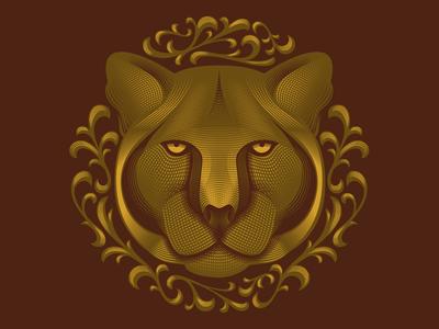 Mountain Lion Illustration