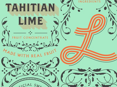 Tahitian Lime Label