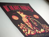We Heart Bikes Screen Print