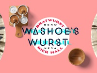 Washoes Wurst Badge