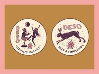 Devil's Valley / Feet & Fingertips Patches