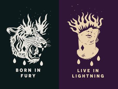 Born in Fury 🔥 Live in Lightning