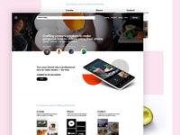 Craftlog Landing Page