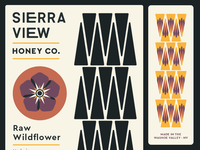 Sierra View Honey Labels