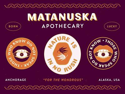 Matanuska Apothecary - No Rush nyc brooklyn nevada reno apothecary happiness friends eye identity alaska good luck marijuana luck lucky weed