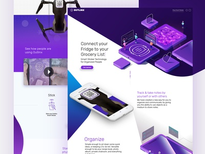 Outlinx Landing Page
