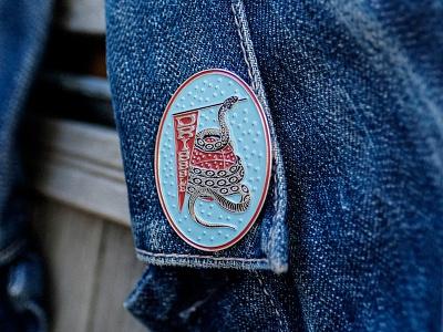 Dribbble: Snake Pin branding and identity designers designer logo new york city laxalt linework nyc branding agency basketball eyes snake bushwick graphic design branding lapel pin illustration brooklyn nevada reno