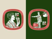 Burrata House Badges