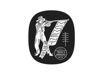 Broke & Unbroken reno nevada tahoe squaw brooklyn illustration linework new york city laxalt lettering identity new york design