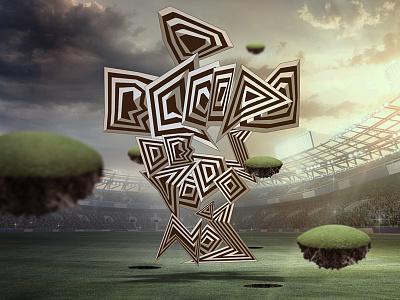 Nike World Cup artist series artwork typography design nike football illustration visual design world cup nike