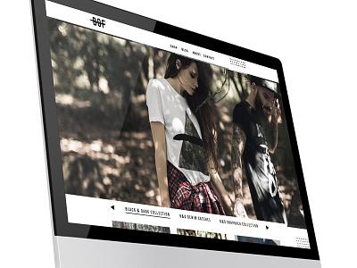 Boards of Freedom clothing street wear fashion interface digital responsive design web design ui ux