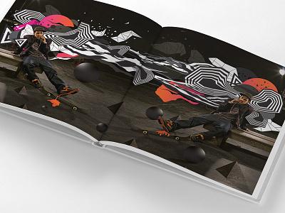 Unlimited for Boost Mobile boost mobile boost paul rodriguez skateboard skate adobe digital art photoshop illustrator abstract artwork art