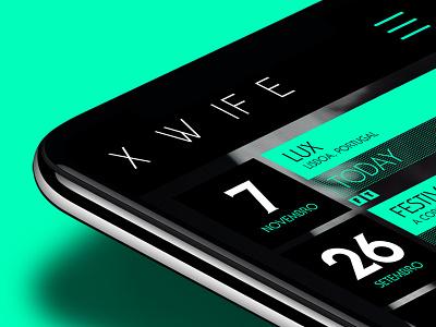 X-Wife background reactive adobe illustrator adobe photoshop ui ux responsive design web design uxui