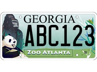 Georgia Wildlife Tag