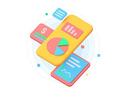 UNIFIN brand illustrations minimal modern brand design motion 3d blender3dart blender 3d blender blender3d animation illustration brand illustration
