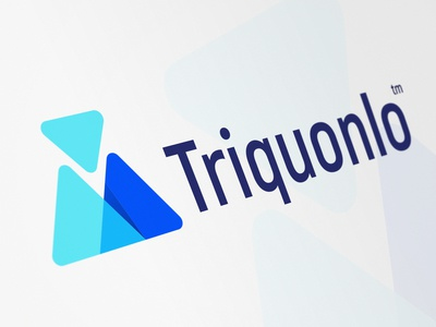 Triquonlo logo development