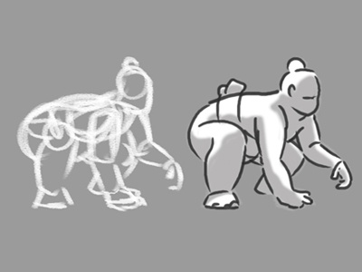 Figure Drawing - Sumo (two)
