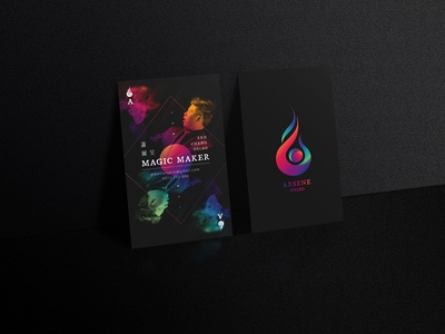 Magician's Business Card