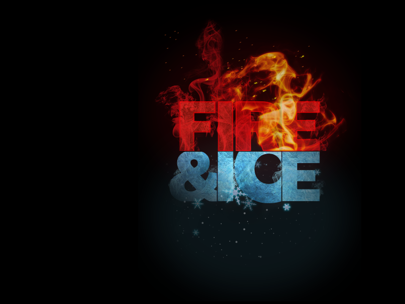 Fire And Ice By Arjay Osma Dribbble