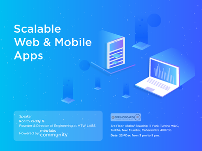 Scalable web & mobile app banner web mobile salable