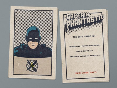 Captain Phantastic - Retired Hero
