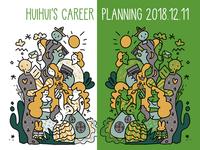 Huihui's career planning