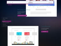 Personal page interface