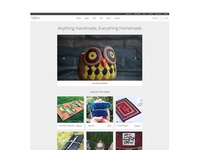 Homepreneur's Handmade Products Website
