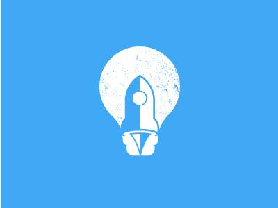 Rocket Bulb Logo Concept