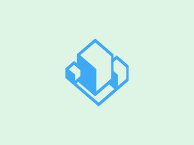 Isometric Logo Concept