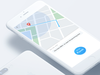 #Daily UI 020-Location Tracker