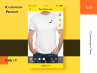 #Daily UI 033-Customize Product