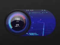 #Daily UI 034-Car Interface
