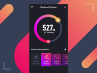 #Daily UI 041-Workout Tracker
