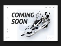 #Daily UI 048-Coming Soon