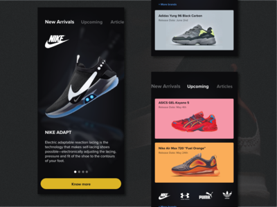 Sneakers Blogging Application
