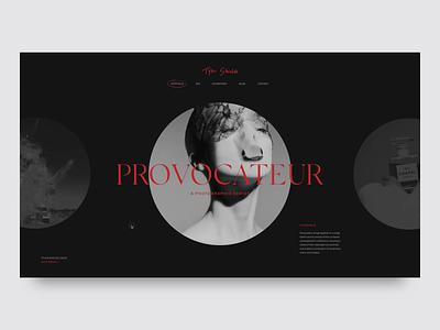 Tyler Shields |  Photography Portfolio interactions minimal website portfolio photography photography website minimal ui design landing page ux ui web  design typography
