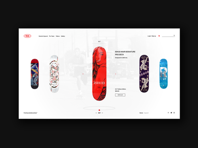 Real Skateboards Co. Deck Store