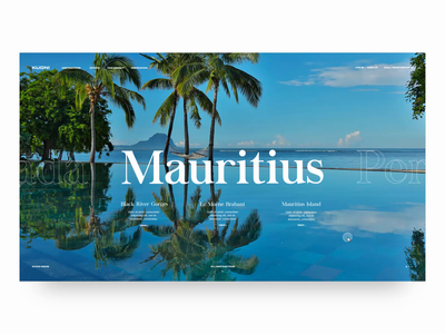 Kuoni | Find your amazing website concept holiday luxury transitions transition kuoni travel website travel landing page ui design ux ui web  design typography